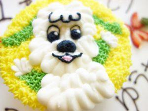 わんわんケーキ