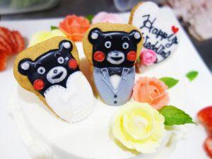 クマモンキャラクターケーキ