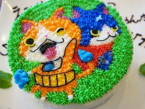 妖怪ウォッチのケーキ